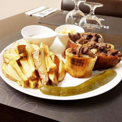 Assiette shawarma boeuf