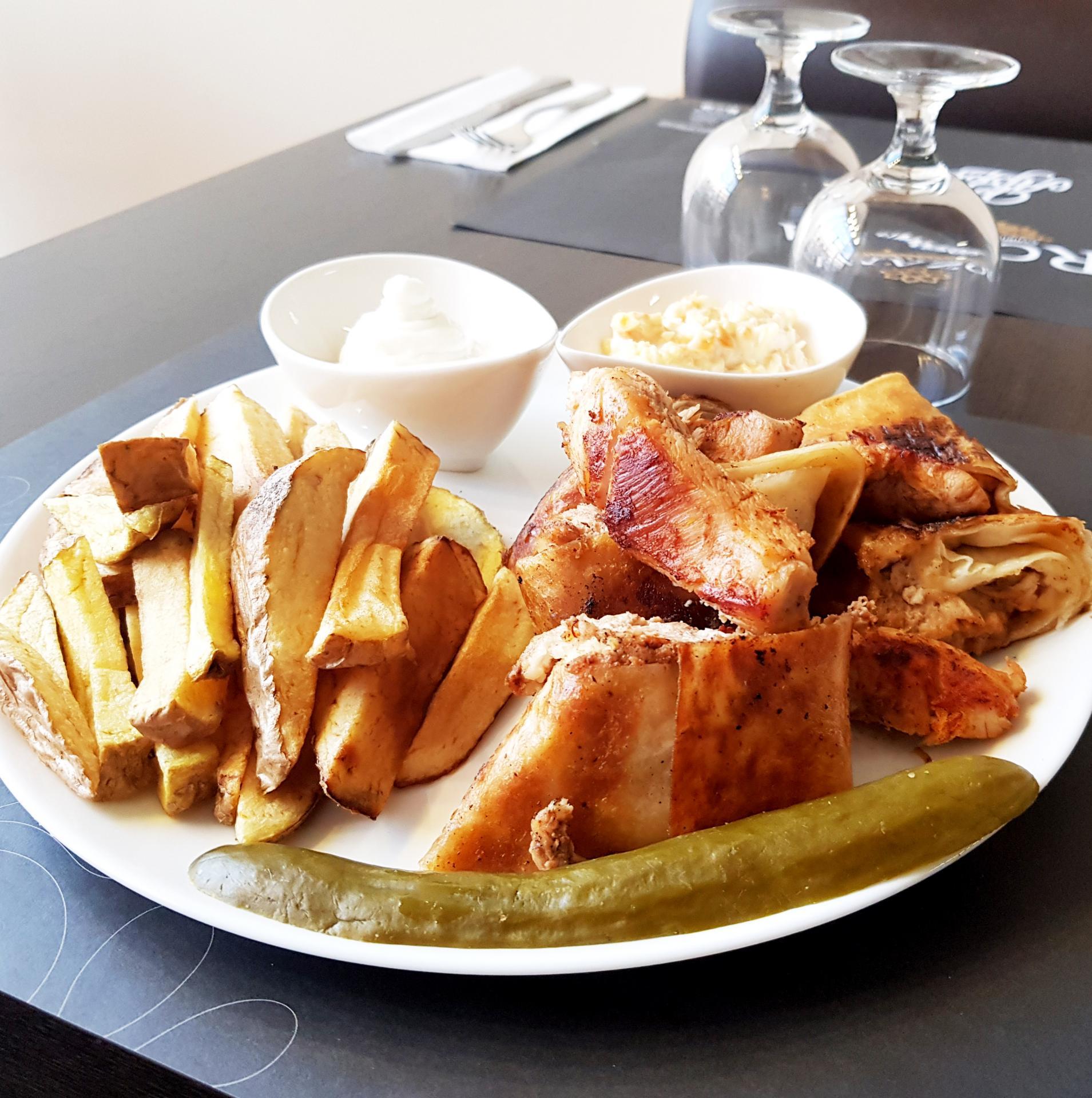 Assiette shawarma poulet