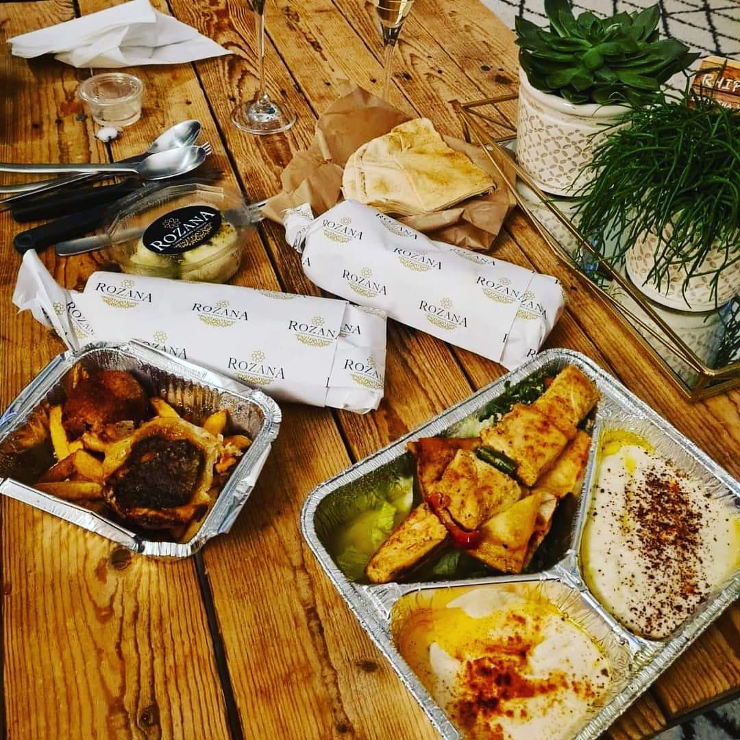 Restaurant libanais avec livraison offerte