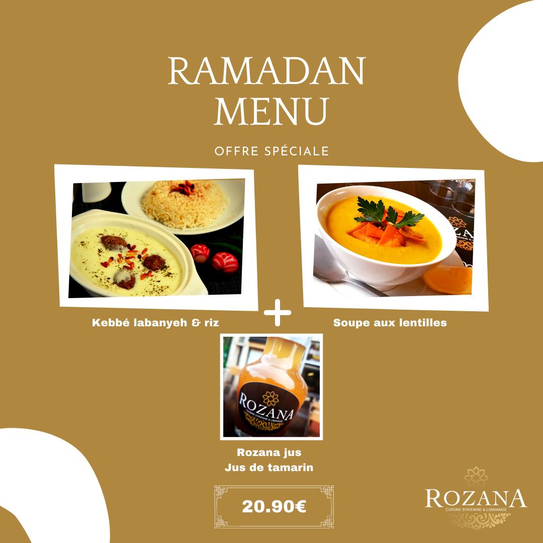 Menu Ramadan - 1