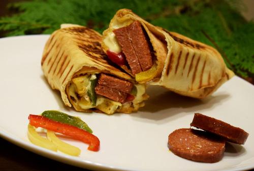 sandwich Saucisses Boeuf