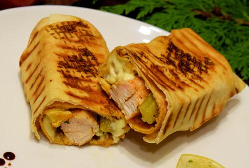 Sandwichs chiche taouk