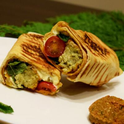Sandwichs falafel