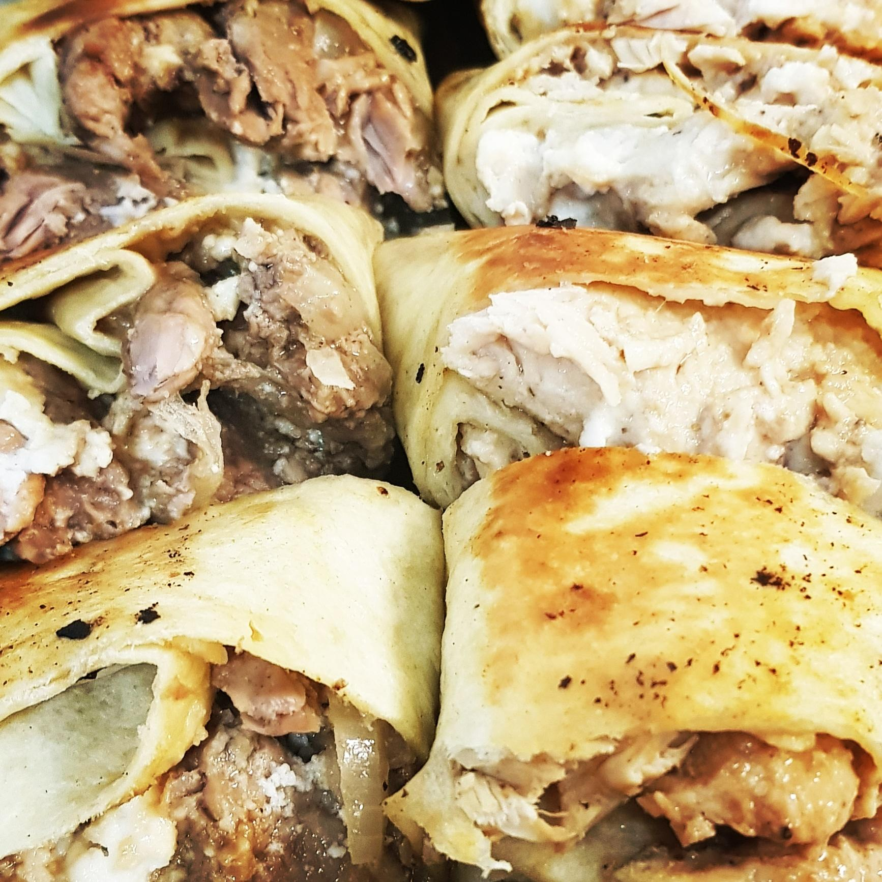 Shawarma poulet et shawarma boeuf